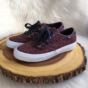 Vans sneakers floral pattern